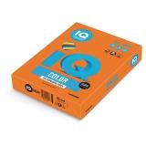 Бумага IQ color А4 80г/м интенсив, оранжевая OR43  500Л /5//