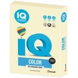 Бумага IQ color А4, 160 г/м, 250 л, пастель, ванильная, BE66, ш/к 16809