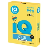 Бумага IQ color А4 80 г/м, CY39 КАНАРЕЕЧ.-ЖЕЛТЫЙ, 100Л  ш/к 10869