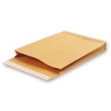 КОНВЕРТ БУМ. C4  объемный (229х324х40мм) до 250 листов, крафт, отрывная полоса, 381227