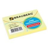 Блок д/записи  76х102мм 100л.,BRAUBERG   желтый, 122691