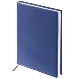 Ежедневник недатированный А5 (138х213мм) BRAUBERG Favorite, кожзам, 160л, темно-синий, 123396