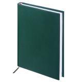 "Ежедневник BRAUBERG недат. А5 138*213мм ""Select"", под зернистую кожу, 160л., зеленый, 123431"