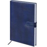 Ежедневник датированный 2020 A5, BRAUBERG Legend, гладкая кожа, синий, 138*213мм, 129730