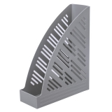 "Лоток верт. BRAUBERG ""Standard+"", 250х90х300 мм, серый, 237225"