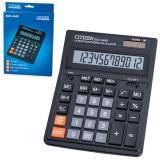 Калькулятор 12 разрядов CITIZEN SDC-444S (199х153мм), двойное питание