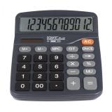 Калькулятор 12 разр. STAFF PLUS DC-111 (180x145мм), двойное питание, +БАТАРЕЙКА АА