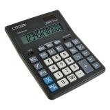 Калькулятор 12 разр. CITIZEN BUSINESS LINE CDB1201BK, двойное питание, 157x200мм