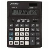 Калькулятор 14 разр. CITIZEN BUSINESS LINE CDB1401BK (205x155мм), двойное питание