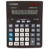 Калькулятор CITIZEN BUSINESS LINE CDB1601BK, настольный, 16 разрядов, двойное питание, 157x200мм