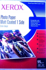 Бум RX INKJET PHOTO PAPER MATT COATED 1SIDE A4 95 200л