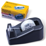 Диспенсер для клейкой ленты BRAUBERG настольный утяжеленный средний, 440014