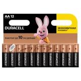 Батарейки DURACELL Basic, AA (LR06, 15А), алкалиновые /12 шт/ (ш/к 6546)