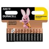 Батарейки DURACELL Basic  АAA(LR03, 24A) /12 шт/