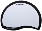 Коврик для мыши DEFENDER Ergo opti-laser, пвх+полиуритан, 215х165х1,2мм, черный, 50511