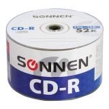 Диски CD-R SONNEN 700Mb 52x Bulk КОМПЛЕКТ 50шт, 512571