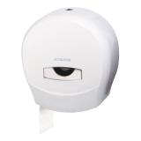 Диспенсер для туалетной бумаги ЛАЙМА PROFESSIONAL (Система T2), малый, белый, ABS пластик, 601427