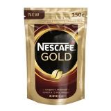 """Кофе молотый в растворимом NESCAFE (Нескафе) """"Gold"""", 150г, мягкая упаковка, 12326223"""