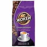 """Кофе в зернах ЖОКЕЙ """"Традиционный"""", натуральный, 900г, вакуумная упаковка, ш/к 11290"""