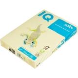 Цветная офисная бумага IQ Color 160г Pale YE23 (желтый) A3 297*420мм 250л/пч 5пч/кор 100пч/пал, Mond