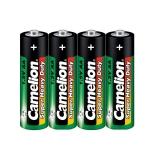Батарейка Camelion R06-4 блистер /60-  green батарейка