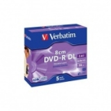 ДИСК DVD(ПЛЮС)R VERBATIM 2.4х,2.6gb,jewel case